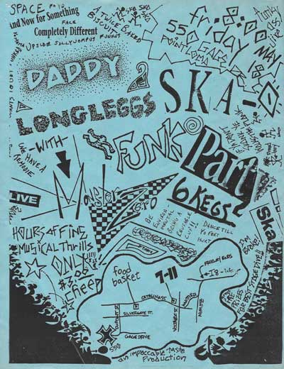 Monster Zero with Daddy Long Leggs flyer