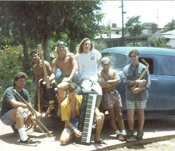 (from left to right) Steve, Chris, Mike N, Alex, Gino, John, Mike M.