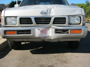 Nissan Truck Front End