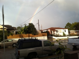 Double Rainbow and Nissan Truck
