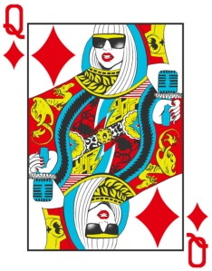 Lady Gaga as Queen of Hearts