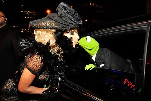 Lady Gaga + Kermit the Frogg